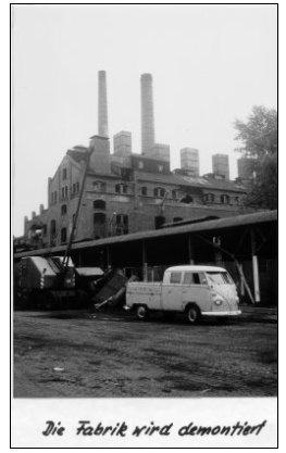 Abriss der Brikettfabrik