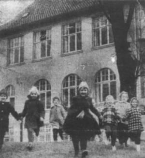 Foto aus dem Zeitungsbericht von 1962