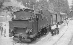 Lok - Verabschiedung am 27. Juni 1964