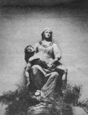 """""""Wahre abbildung des gnaden Bilds der allerseligsten Mutter Gottes Maria in der Capell am spiegel Berg  bey Lauenstein"""" (Heute in der Lauensteiner St. Benedikt Kirche"""