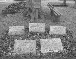 Rudorff Gedenkstätte auf dem Lauensteiner Friedhof, 2007