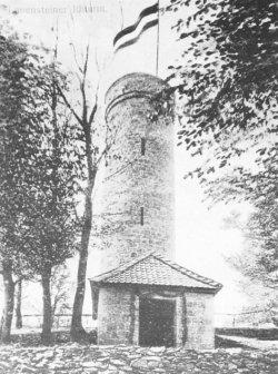 Ithturm in Einweihungsschmuck 1912