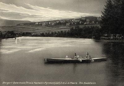 Der Zuckerteich ca. 1935 (Alte Postkarte)