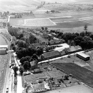 Hof Spiegelberg und Bahnhof Lauenstein