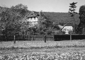 Alte Fachwerkhäuser in Lauenstein